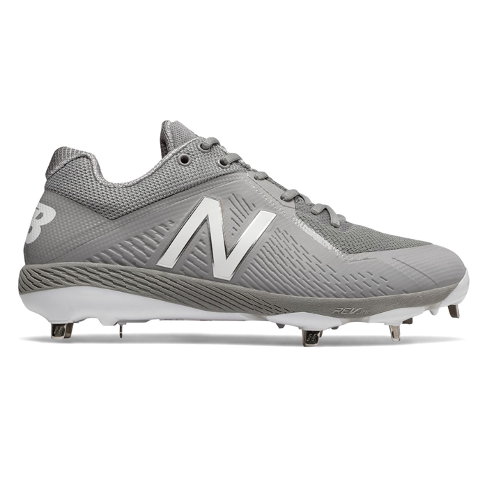 Grey L4040AG4 Low-Cut Metal Cleat