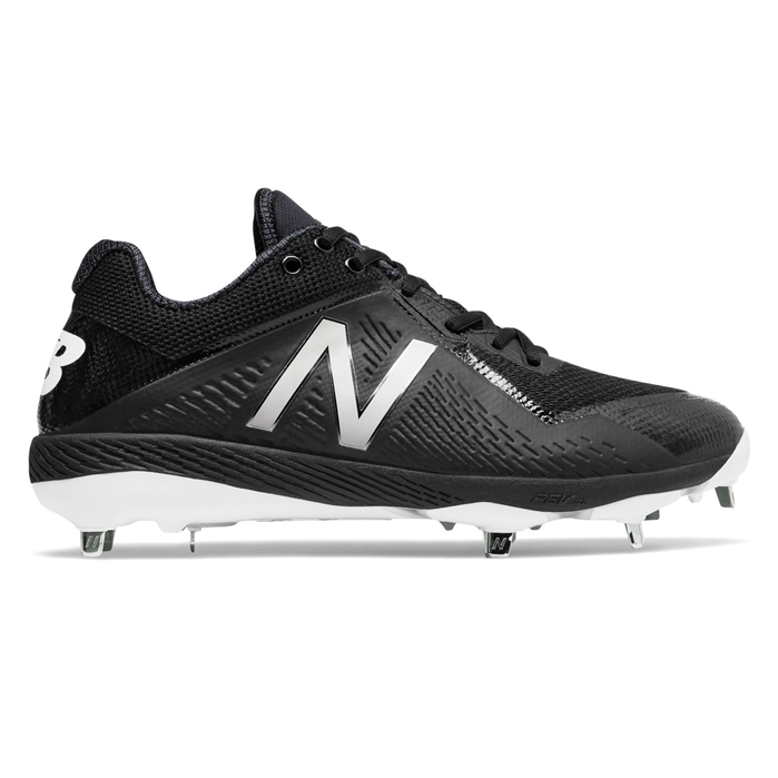 Black L4040BK4 Low-Cut Metal Cleat