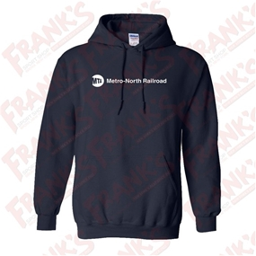 Heavy Blend Metro-North Railroad Hooded Sweatshirt