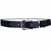 Heavy Duty Adult Stretch Baseball-Softball Belts Navy  U.S. A. Made
