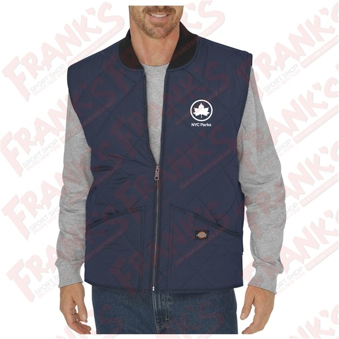 NYC PARKS Diamond Quilted Nylon Vest