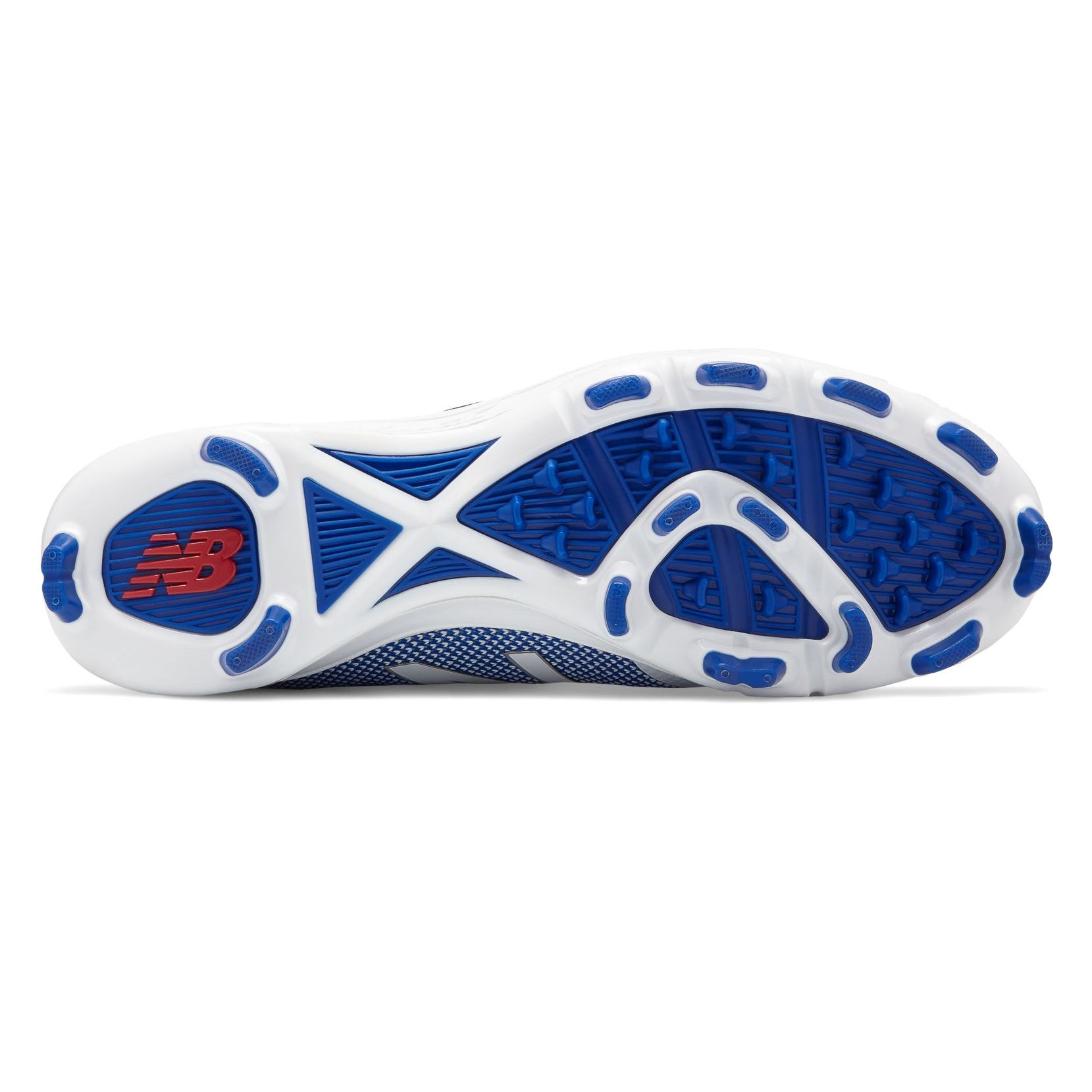 los angeles c482a ec44e ... Royal Blue with White TPU Molded Cleat. click on thumbnail to zoom