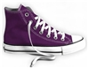 All Star HI in Purple Passion Sneaker