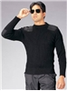 Gov't Black Wool Commando Sweater