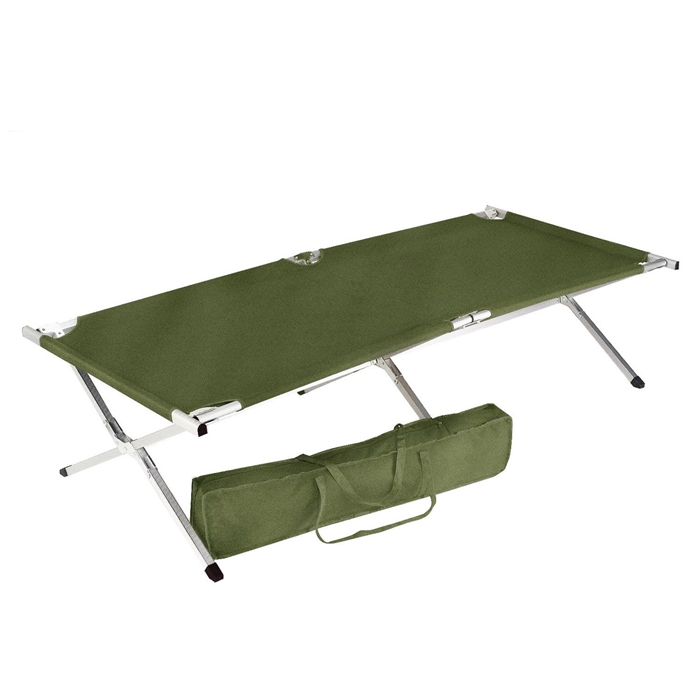 GI Type Deluxe King Size Folding Cot