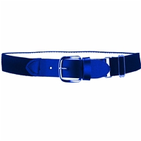 Heavy Duty Adult Stretch Baseball-Softball Belts Royal Blue U.S. A. Made