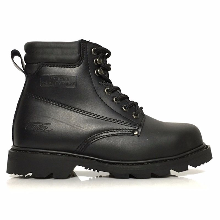 Leather Insulated Safety Construction Work Boot