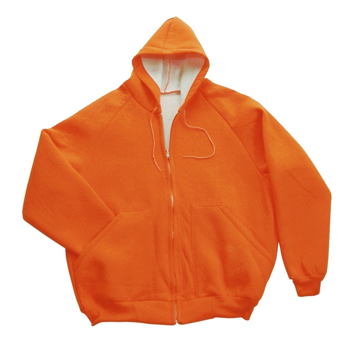 2-Ply Construction Fluorescent Orange Sweatshirt