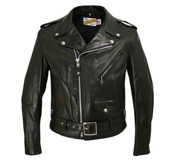 "Schott 26"" Classic Nacked Cowhide Perfecto Jacket"