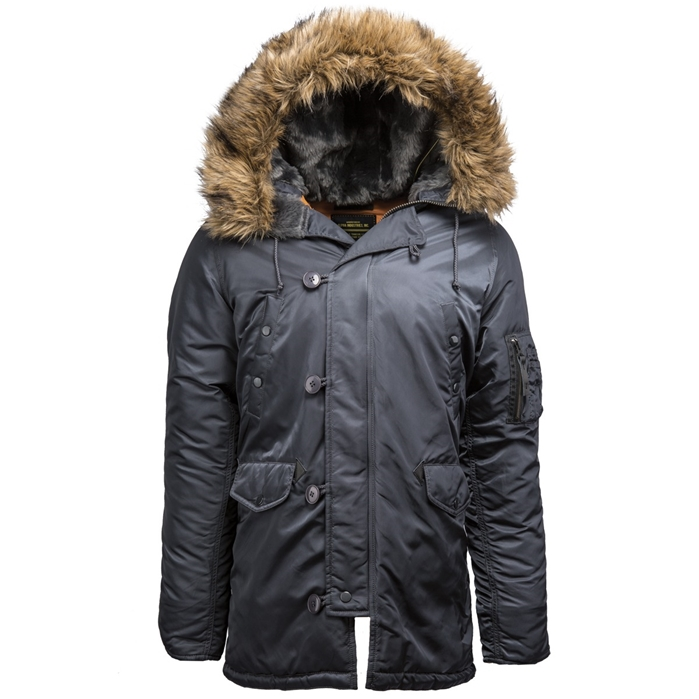 ALPHA INDUSTRIES Slim Fit N-3B Parka