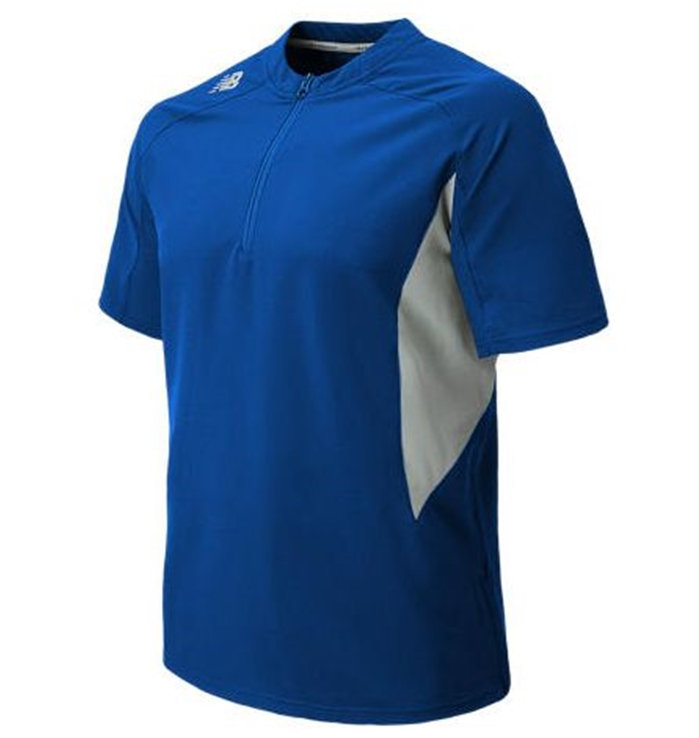 Short Sleeve Ace Baseball Team Royal Jacket