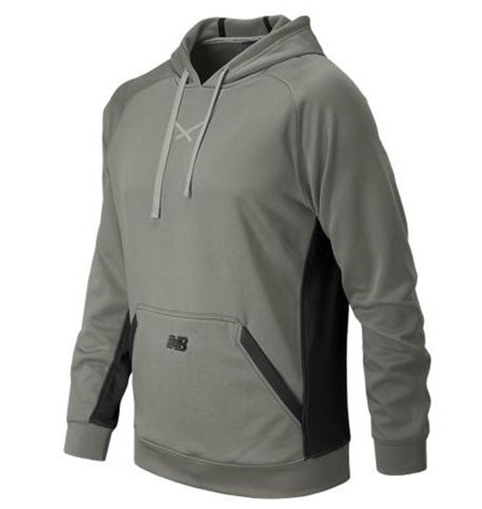 Baseball Light Grey Tech Hoodie