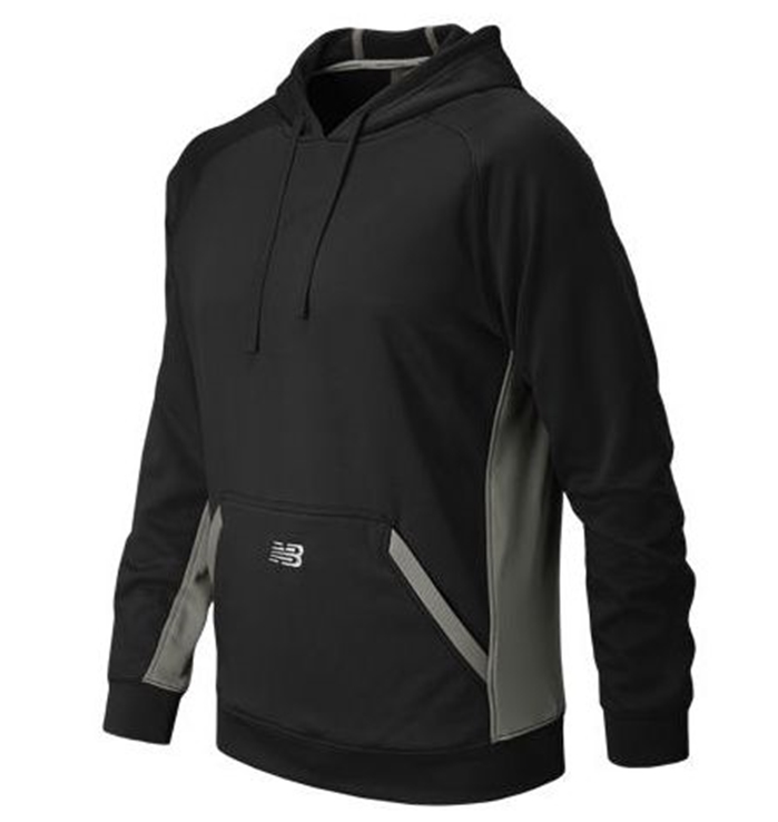 Baseball Team Black Tech Hoodie