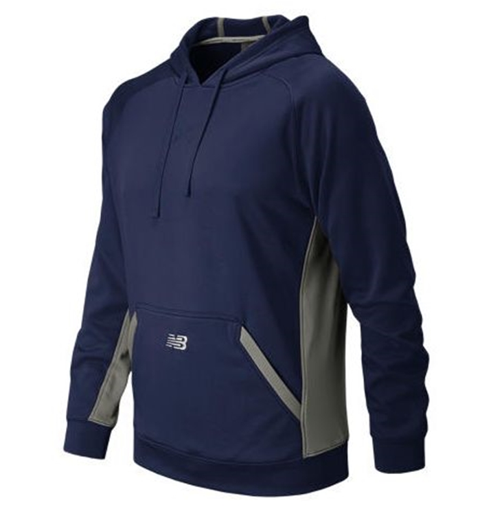Baseball Team Navy Tech Hoodie
