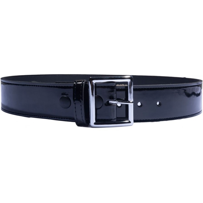 Umpire Patent Leather Belt