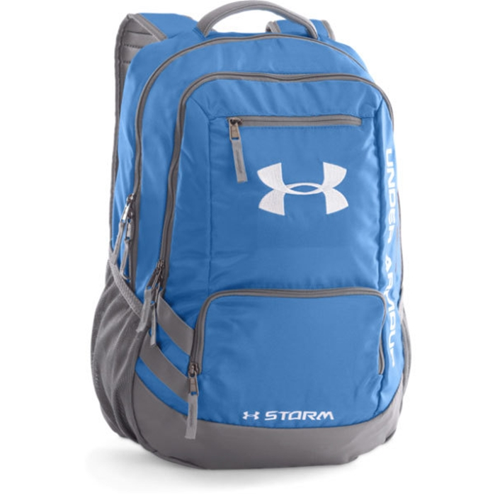 UA Team Hustle Carolina Blue Backpack