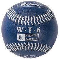 6oz Weighted Leather Baseball