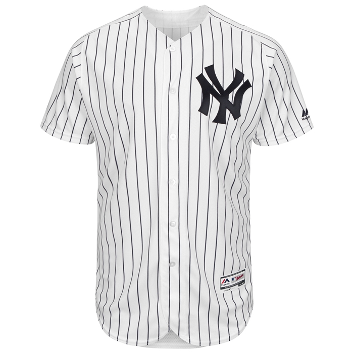 Majestic NY Yankees Home Flex Base Authentic Collection Team Jersey