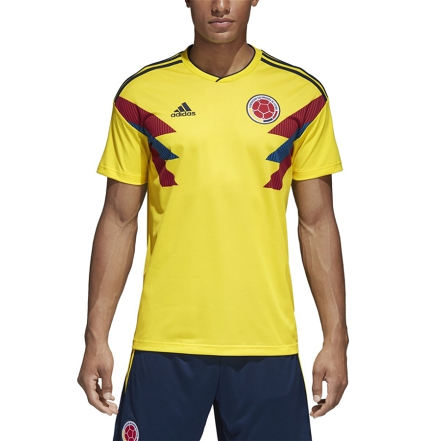 timeless design 2ce86 687a8 Adidas Colombia Home Replica Soccer Jersey