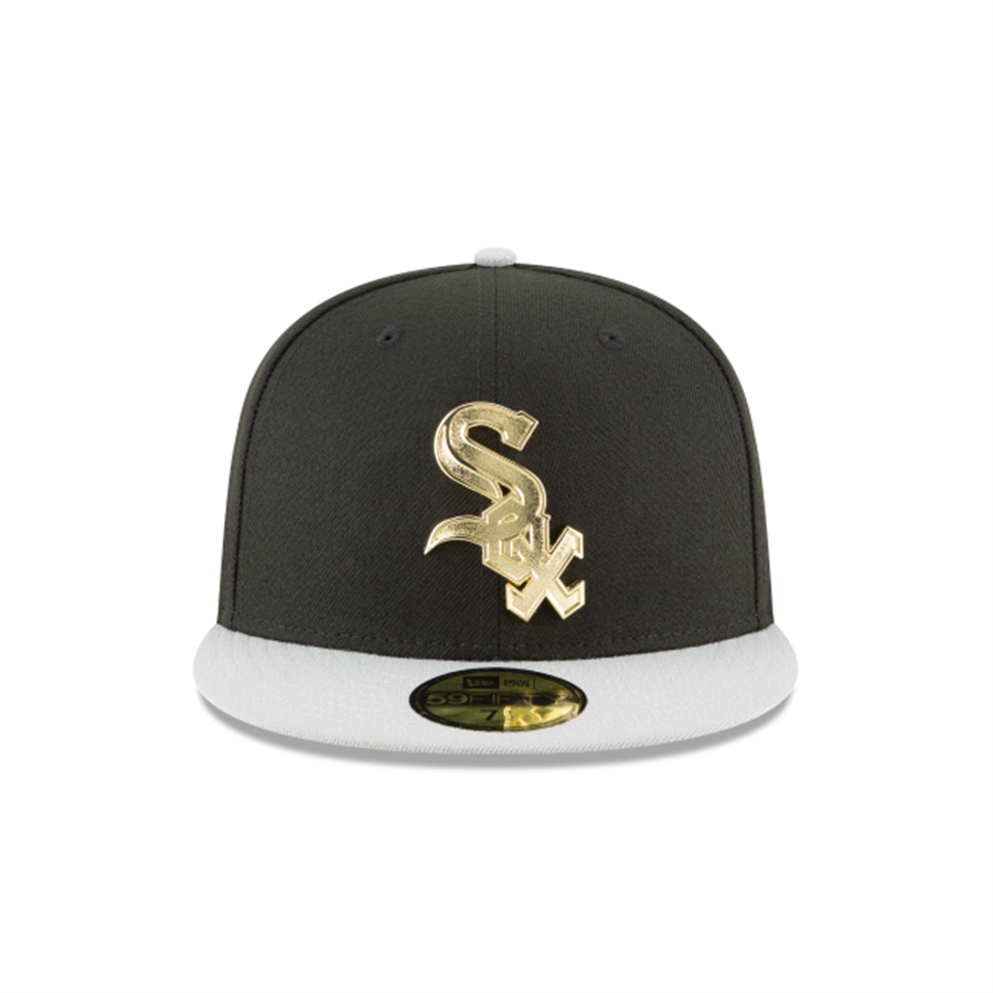 24838f6117d14 New Era 59FIFTY Chicago White Sox Golden Finish Cap