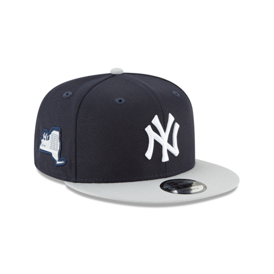 d7919e6c9a45d New Era 9Fifty New York Yankees Side Stated Snapback Cap