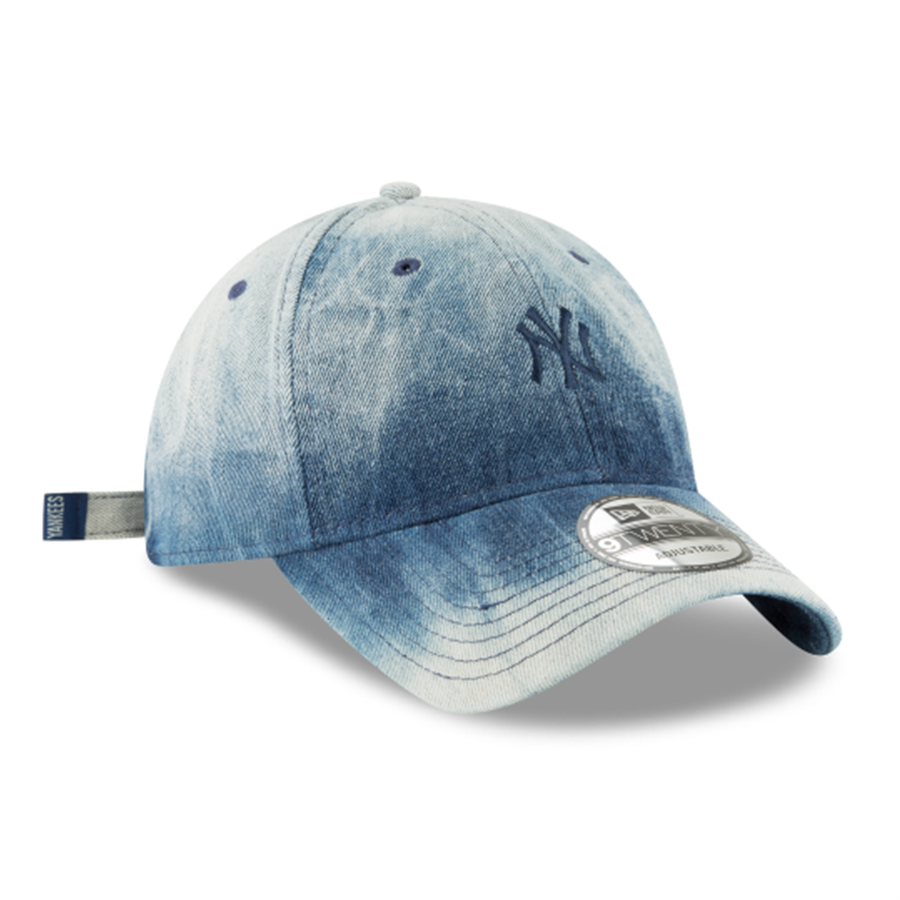 8482dbbc3ac New Era 9TWENTY New York Yankees Denim Wash Out Cap