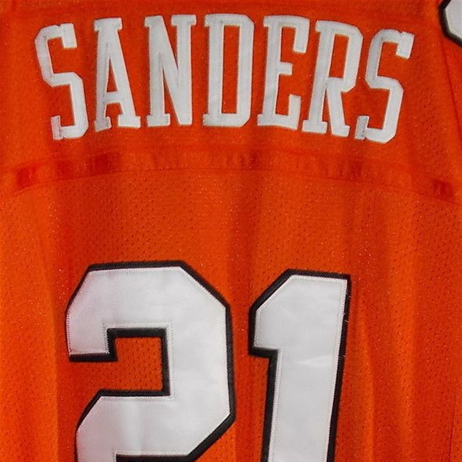 new styles a9662 7d264 Barry Sanders #21 Collegiate Oklahoma State Throwback Jersey