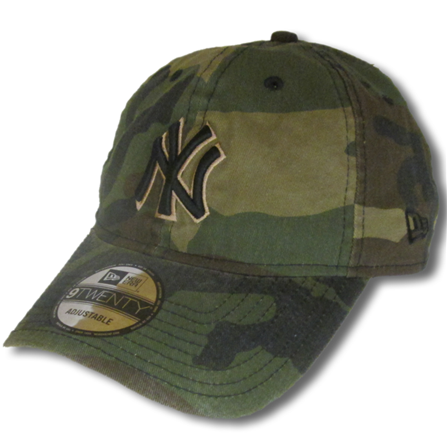 New Era New York Yankees Camo 9TWENTY Adjustable Hat 50340e58a1a