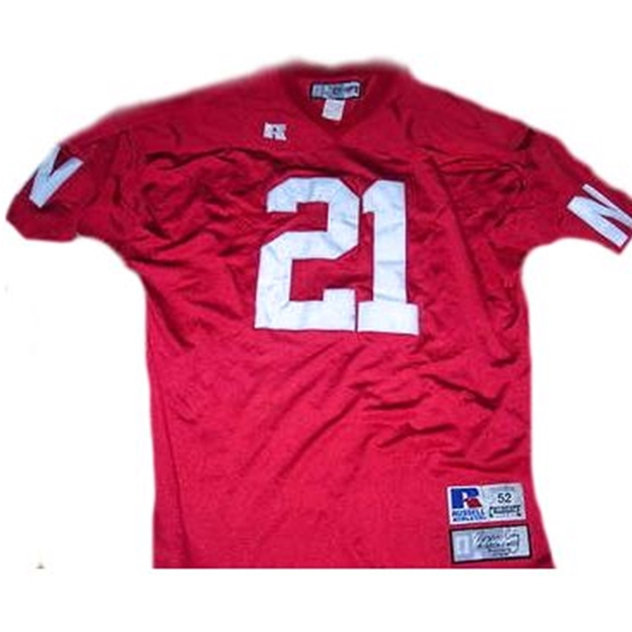 separation shoes 3674f 54598 ROGER CRAIG #21 NEBRASKA HUSKERS Collegiate Throwback Jersey