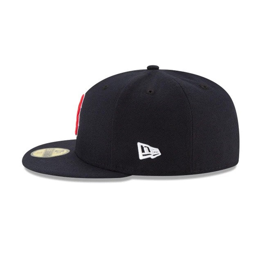 edae4c86450c8 New Era boston red sox world series side patch 59fifty fitted