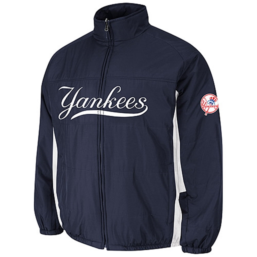 Majestic New York Yankees Authentic Double Climate On-Field Jacket 6967ea22864d