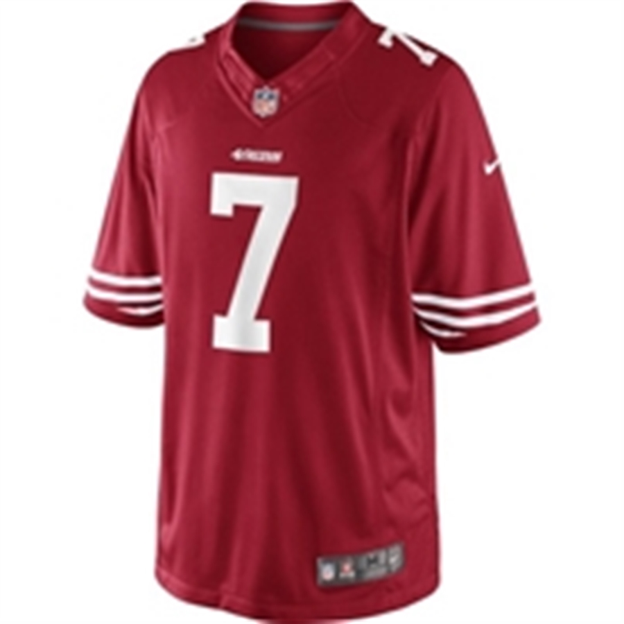 best cheap 07437 0a747 Nike NFL San Francisco 49ers Colin Kaepernick On Field Limited Jersey