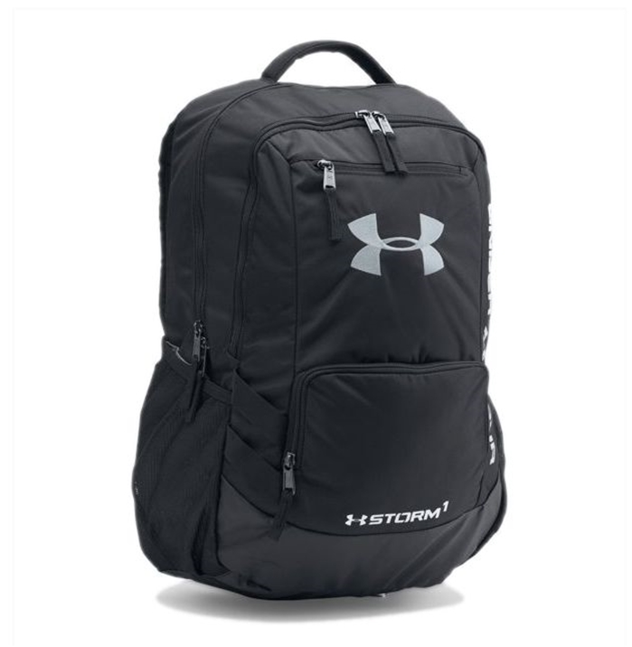 Ua Storm Hustle Ii Black Backpack
