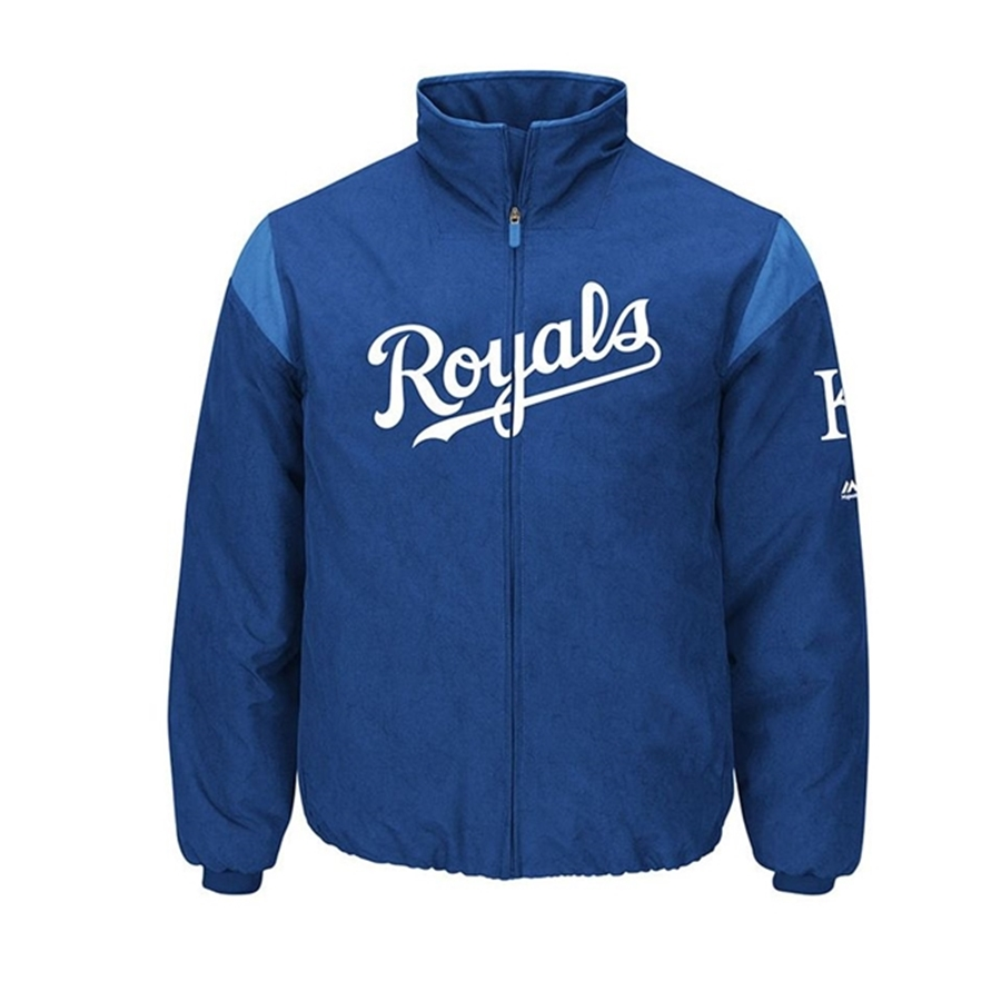 Majestic Authentic Kansas City Royals On-Field Premier Jacket