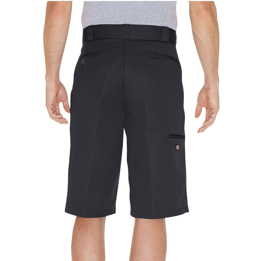 Dickies 13 inch Loose Fit Multi-Use Pocket Work Black Back view