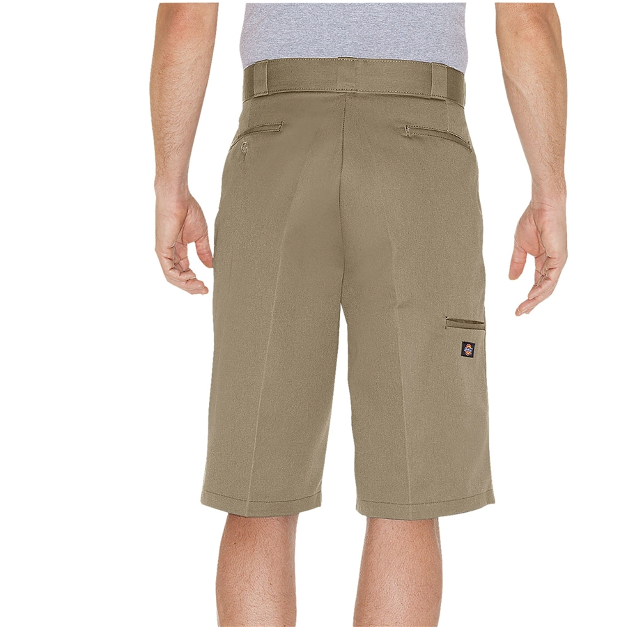 Dickies 13 inch Loose Fit Multi-Use Pocket Work Khaki Back