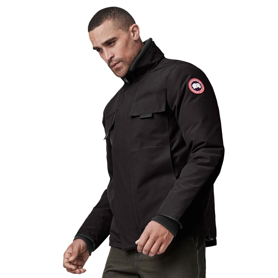 Canada Goose Forester Jacket Black Side view