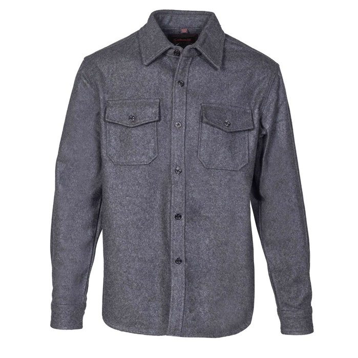 Schott Men's CPO Wool Shirt