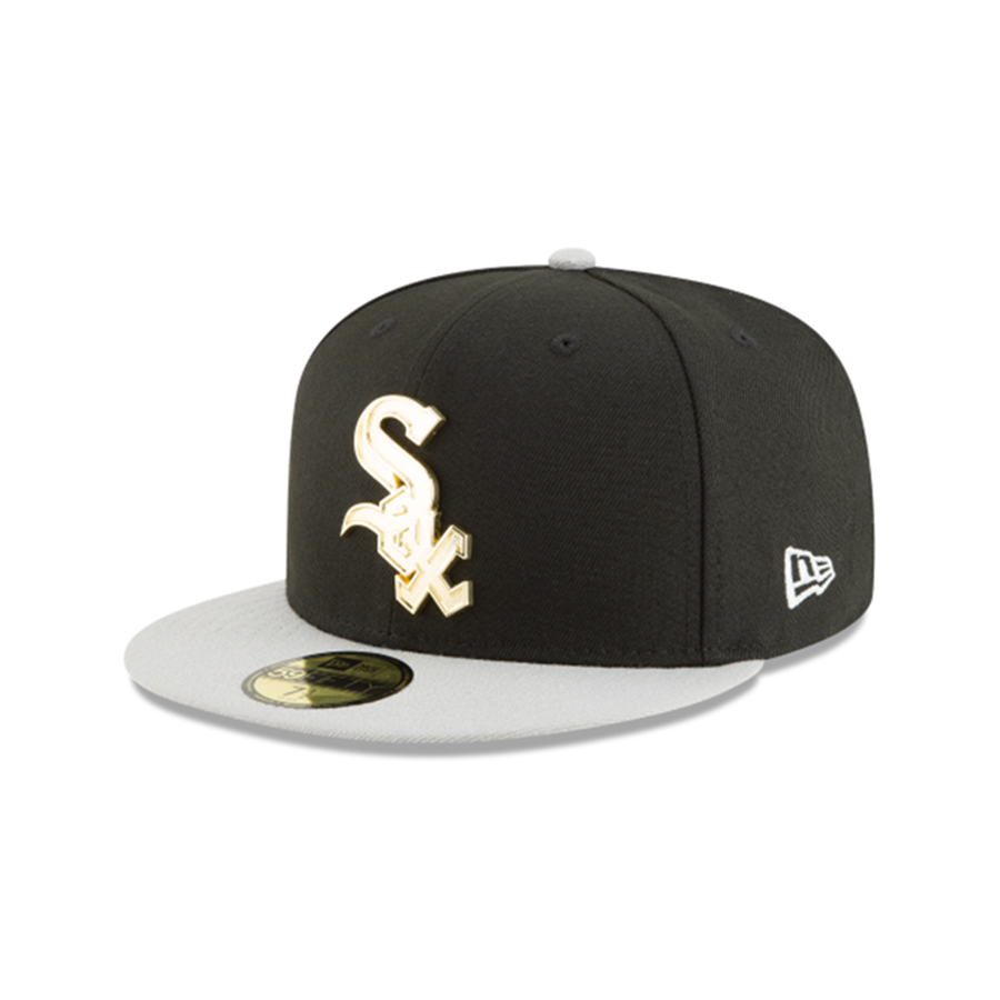 New Era 59fifty Chicago White Sox Golden Finish Cap
