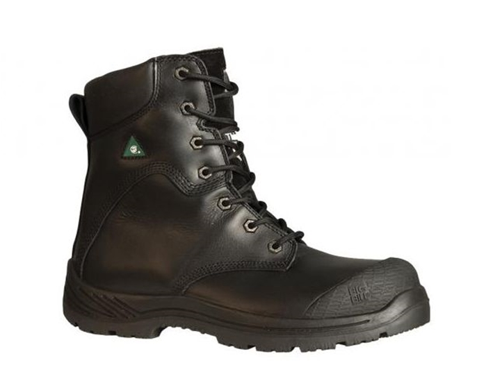 "8""  TRACTION 360° FULL GRAIN LEATHER STEEL TOE BOOTS"