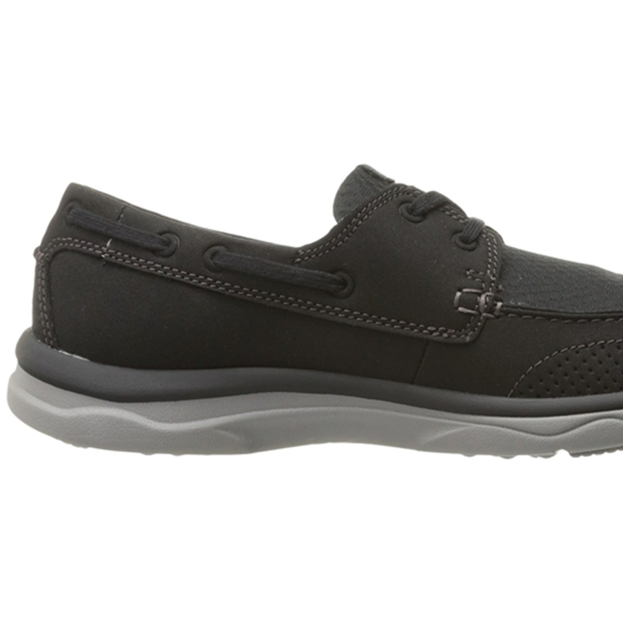 Clarks Marus Edge Black Synthetic Shoes