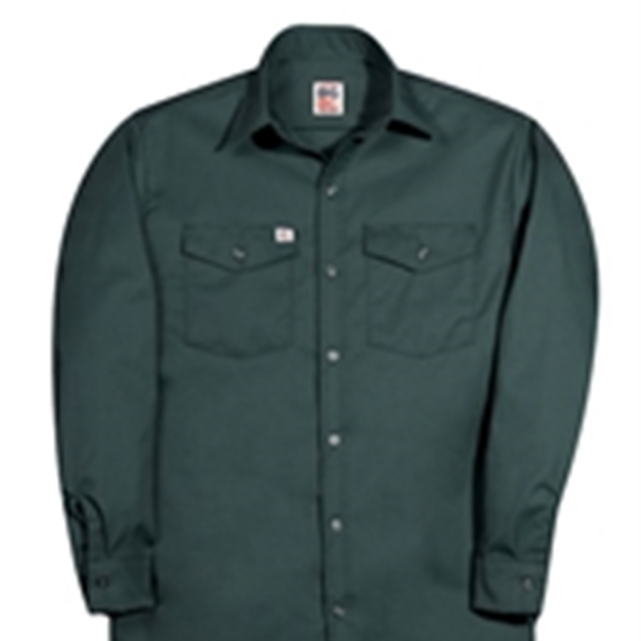 147 Long Sleeve Button Front Closure Work Shirt