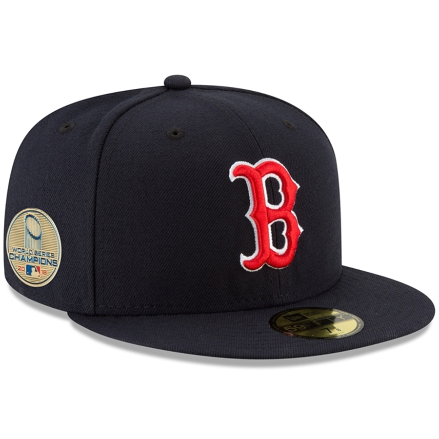 New Era 2018 WSC Boston Red Sox Sidepatch 59FIFTY Fitted Hat