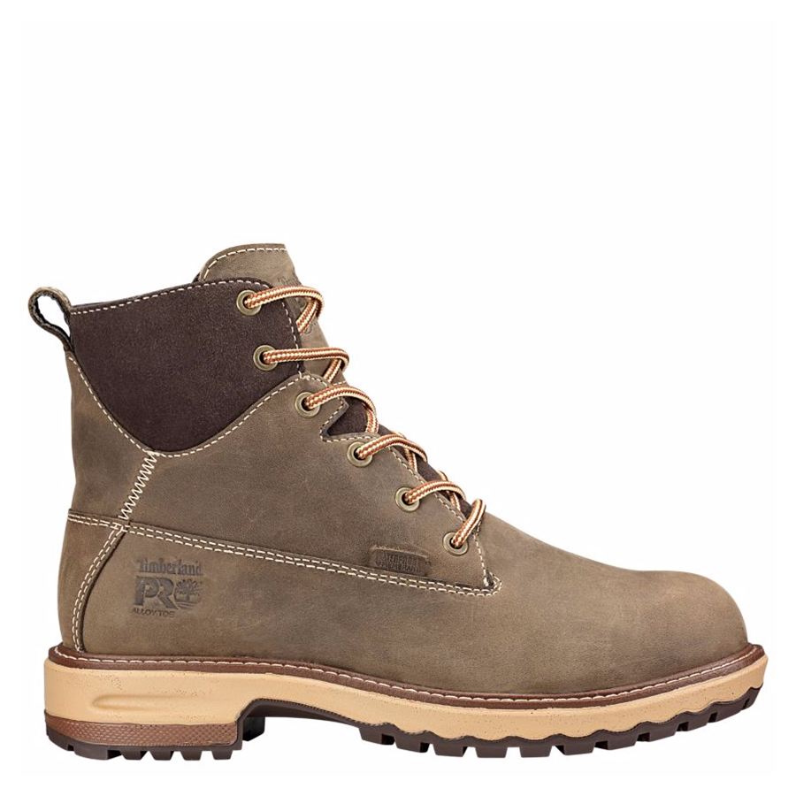 Timberland PRO Womens Hightower 6in Alloy Toe Work Boots