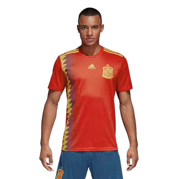 Adidas Spain Home Replica Soccer Jersey