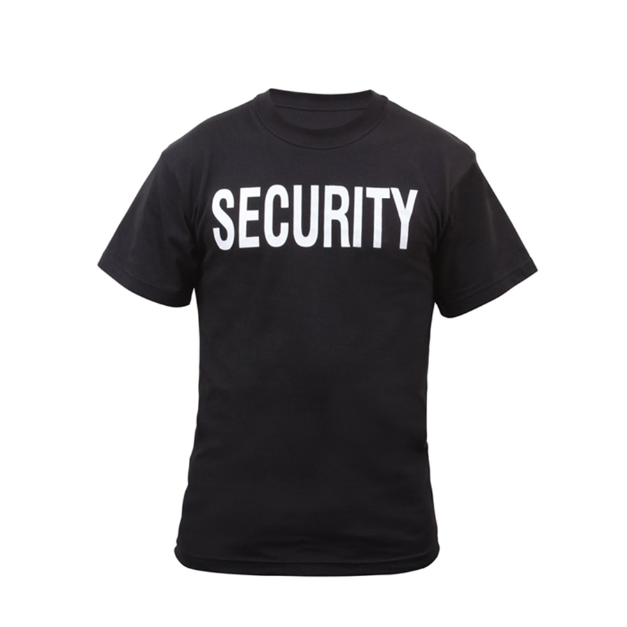Security Double Sided T-Shirt
