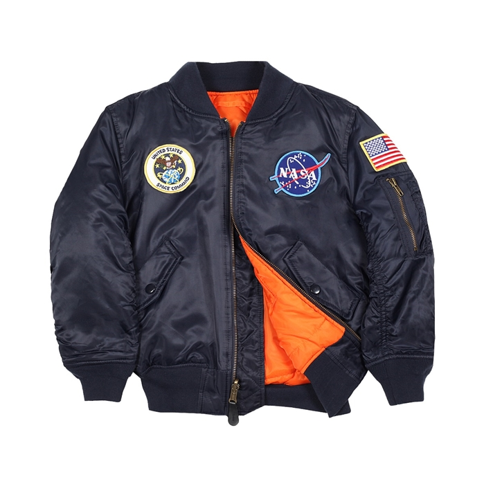 Alpha Industries YOUTH NASA MA-1 FLIGHT JACKET