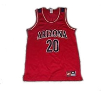 Arizona Wildcats # 20 Away Jersey