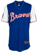 Atlanta Braves Replica 1974 Road Cooperstown Jersey