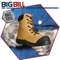 BB6310 Traction Tan Nubuck Leather Boot